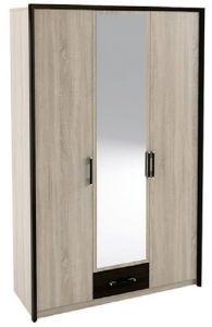 Шкаф 3Д Скарлет (Сокме)