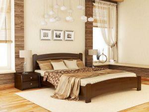Кровать деревянная Венеция-Люкс (Эстелла)