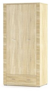 Шкаф Гресс 2Д1Ш (Мебель-Сервис)