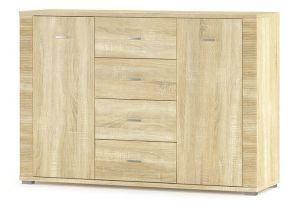 Комод Гресс 2Д4Ш (Мебель-Сервис)