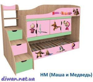 Кровать духъярусная Никита (Мебель-Сич)