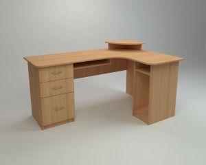 Угловой компьютерный стол СУ-3 (Компанит)