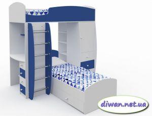 Кровать двухъярусная Вито (М)