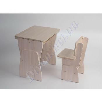 Детский стол +стул