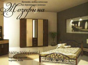 Кровать Жозефина (Металл Дизайн)