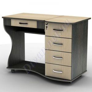 Компьютерный стол СУ-6к (на колесной базе) (АКМ)