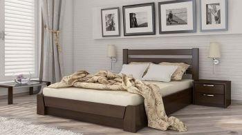 Кровать деревянная Селена\подъемный механизм (Эстелла)