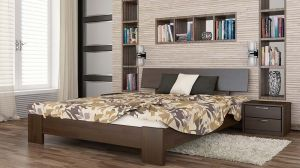 Кровать деревянная Титан (Эстелла)