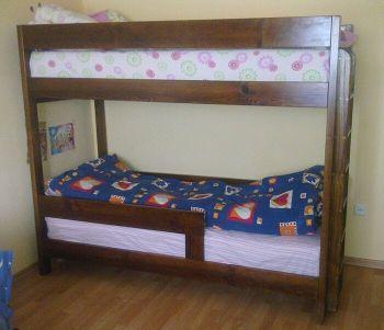 Кровать двухъярусная деревянная Е108 (ЕХ)