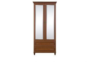 Шкаф 2-дверный с зеркалом Ш-1396 Роксолана (БМФ)