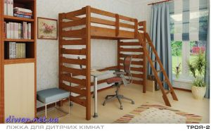 Кровать двухъярусная Троя 2 (Мебигранд)