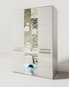 Шкаф 3Д зеркало Бьянко (Світ Меблів)