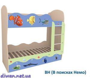 Кровать духъярусная Волна (МЕБЕЛЬ-СИЧ)