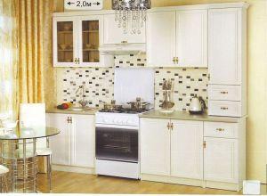 Кухня Оля Люкс 2.0 м (ясень шимо) (БМФ)