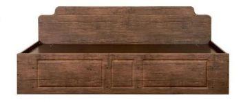 Кровать одинарная КТ-711 НЕМО (БМФ)