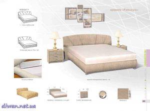 Кровать Ривьера (Модерн)