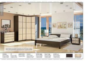Спальня Фантазия NEW (Мебель-Сервис)