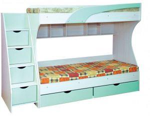Кровать двухъярусная Кадет (Пехотин)