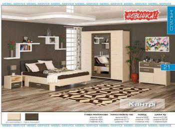 Спальня Кантри (Мебель-Сервис)