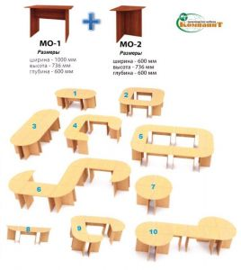 Стол МО-1 (Компанит)