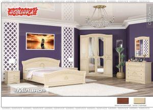 Спальня Милано (Мебель-Сервис)