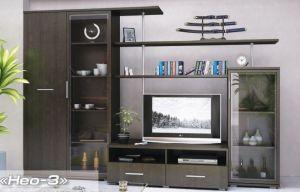 Гостиная стенка Нео-3 (Мебель Сервис)