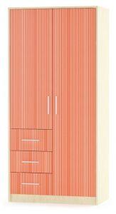Шкаф Симба 2Д+3Ш (Мебель-Сервис)