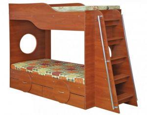 Кровать двухъярусная Тандем (Пехотин)