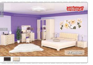 Спальня Токио (Мебель-Сервис)