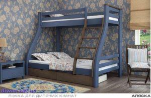 Кровать двухъярусная Аляска (Мебигранд)
