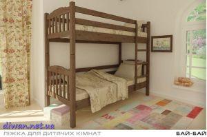 Кровать двухъярусная Бай-Бай (Мебигранд)
