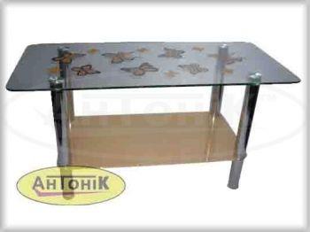 """Журнальный стол из стекла """"СТ-102"""" ( """"Антоник"""")"""