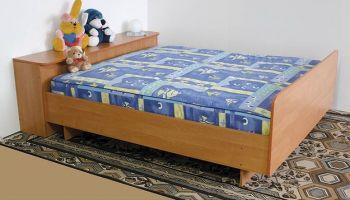 Кровать 2-х спальная +тумба (Світлиця)