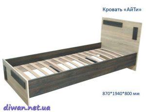 Кровать АйТи IT (Мебель-Сич)
