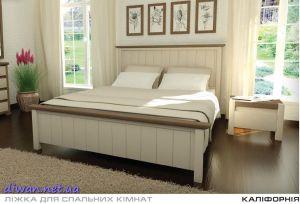 Кровать деревянная Калифорния (Мебигранд)