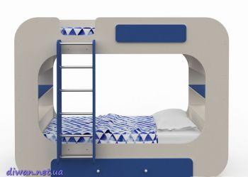 Кровать двухъярусная Космо (М)