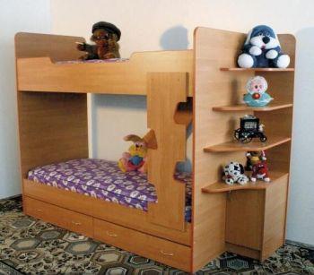 Кровать двухъярусная (Світлиця)