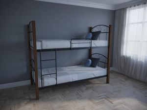 Кровать двухъярусная Лара Люкс Вуд Мелби