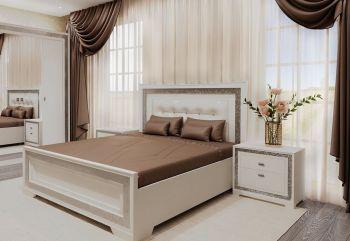 Кровать двуспальная Zarina