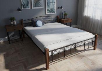 Кровать двуспальная Элизабет Мелби