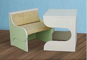 Парта стул Кубик-Рубик (Світлиця)