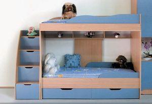Кровать двухъярусная Люси (Світлиця)