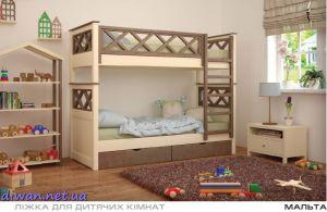 Кровать двухъярусная Мальта (Мебигранд)