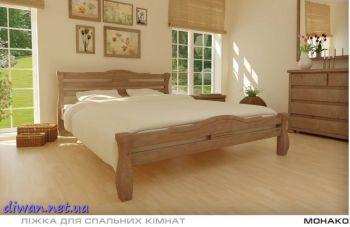 Кровать деревянная Монако (Мебигранд)