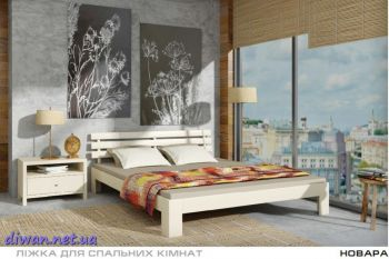 Кровать деревянная Новара (Мебигранд)