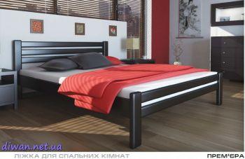 Кровать деревянная Премьера (Мебигранд)