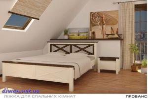 Кровать деревянная Прованс (Мебигранд)
