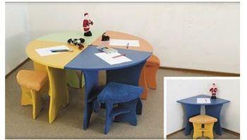 Детский стол +стул Семицветик (Світлиця)
