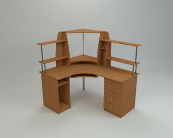 Угловой компьютерный стол СУ-11 (Компанит)