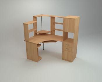 Угловой компьютерный стол СУ-12 (Компанит)